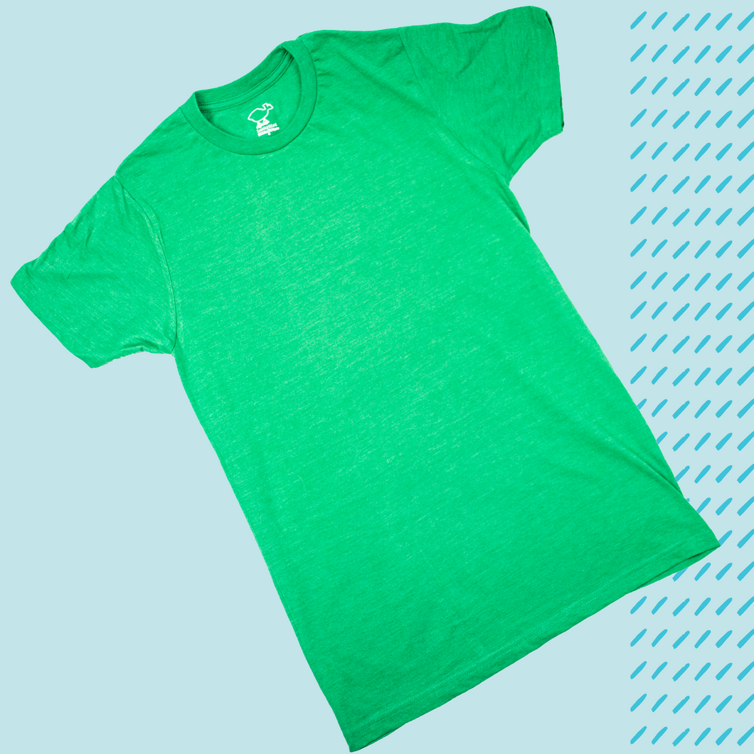 Kelly Green Heather Tee