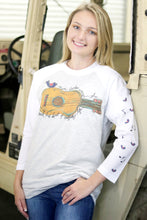 Load image into Gallery viewer, White 3/4 Sleeve Raglan