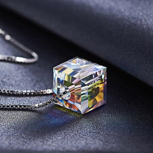 Aurora Borealis Prism Necklace