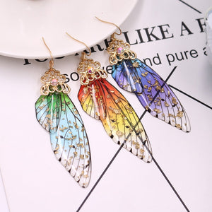 Romantic Butterfly Wings Earrings