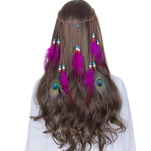 Boho Feathers Weave Hair Accessory