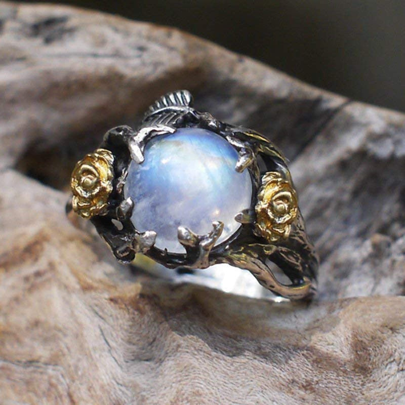 The Enchanted Garden Moonstone Ring