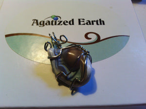 'Agate Eye' - Agatized Earth