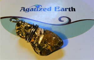 Grey/Brown Fossil Coral - Agatized Earth
