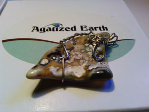 """Dragons Tooth"" - Agatized Earth"