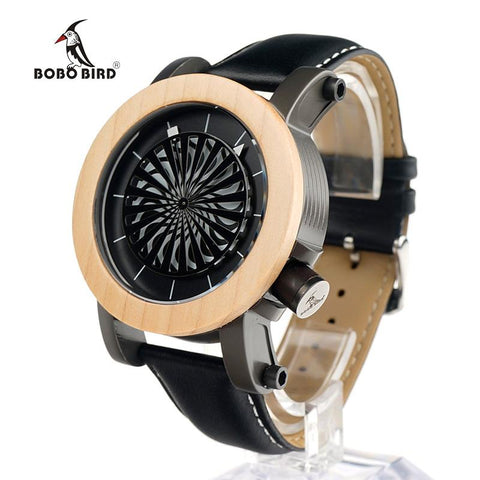 BOBO BIRD-Antique Mechanical Watch With Skeleton hollow-out design Neram