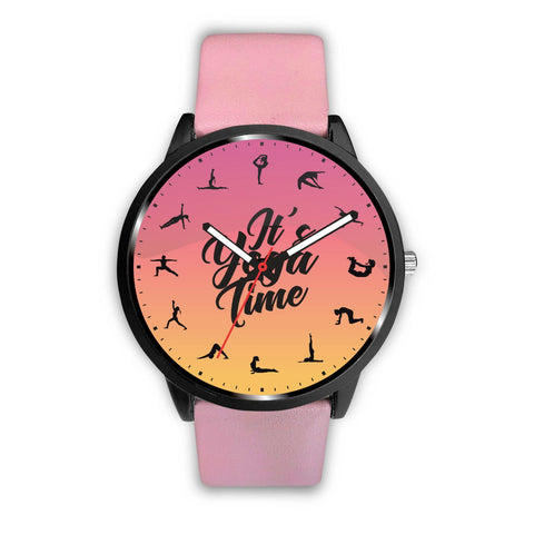 It's yoga Time Watch wc-fulfillment Womens 34mm Pink
