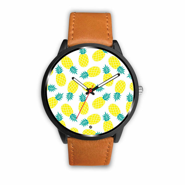 Pineapple love Watch wc-fulfillment Mens 40mm Brown