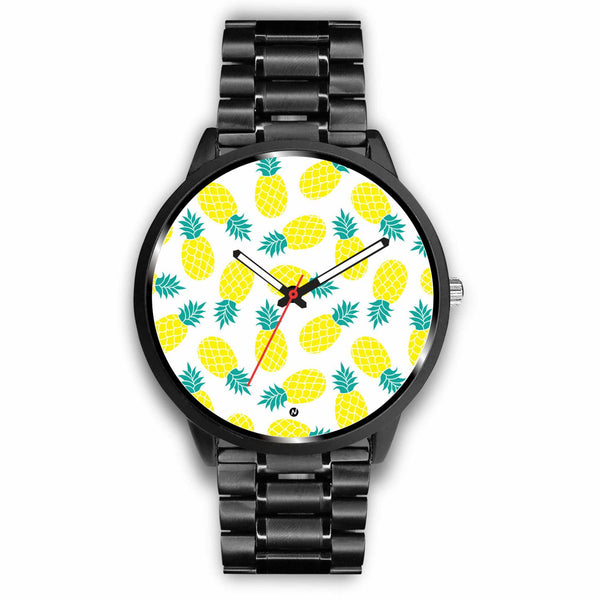 Pineapple love Watch wc-fulfillment Mens 40mm Metal Link