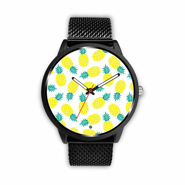 Pineapple love Watch wc-fulfillment Mens 40mm Metal Mesh