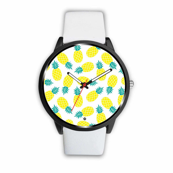 Pineapple love Watch wc-fulfillment Mens 40mm White