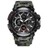 SMAEL Sports Gear Neram Camo Army Green