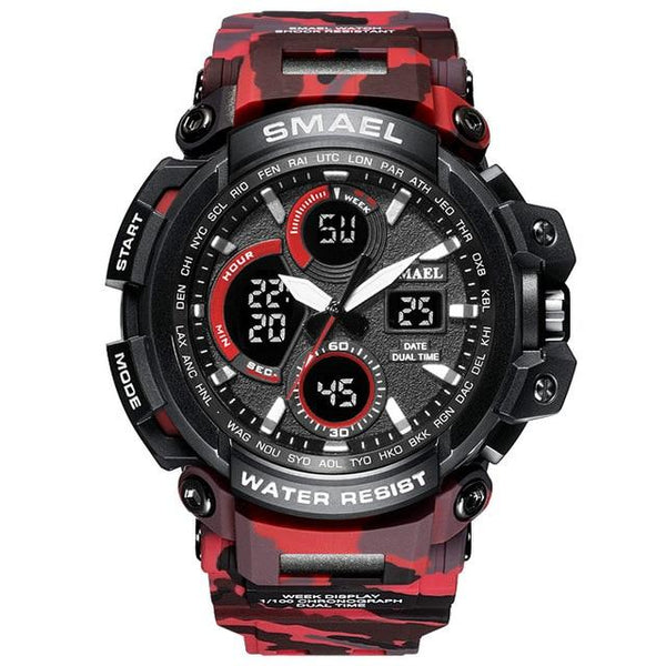 SMAEL Sports Gear Neram Camo Red
