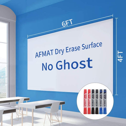 White Board Paper-No Ghost-Large Size 4x6 FT-D02