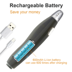 Electric Eraser Rechargeable with 140 Eraser Refills-EE04