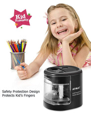 Electric Pencil Sharpener for Kids-PSB01