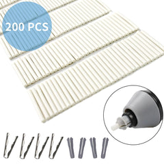 200Pcs 2.4mm Eraser Refills for Electric Eraser