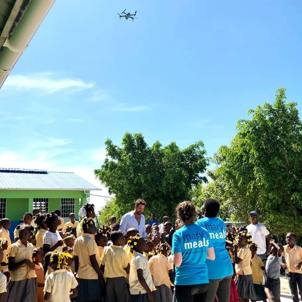 Haiti with Gerard Butler and Mary's Meals