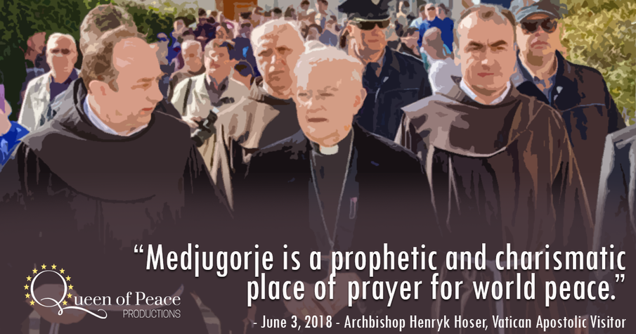 Medjugorje a prophetic place of prayer, says Vatican envoy