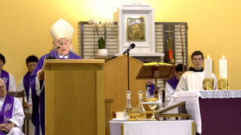 Vatican Visitor to Medjugorje gives Lenten homily