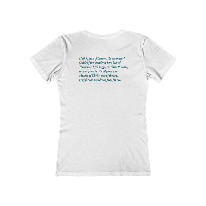 Women's Star of the Sea shirt with prayer