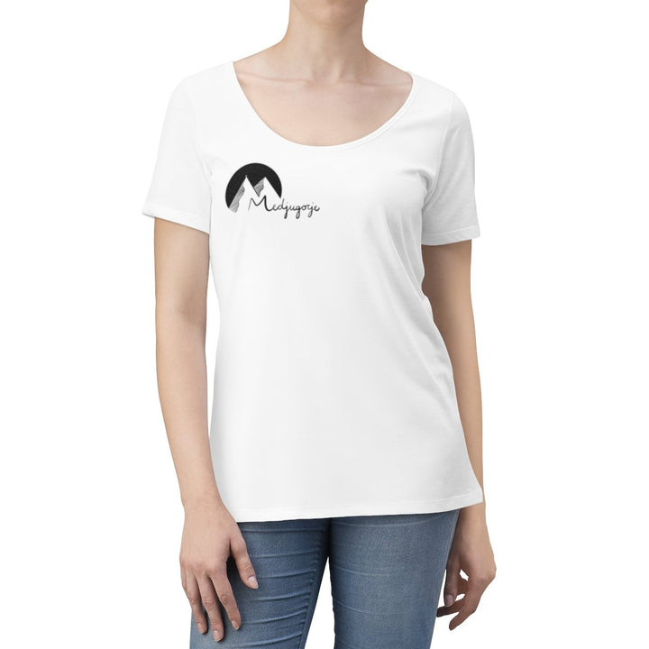 Medjugorje Scoop Neck T-shirt