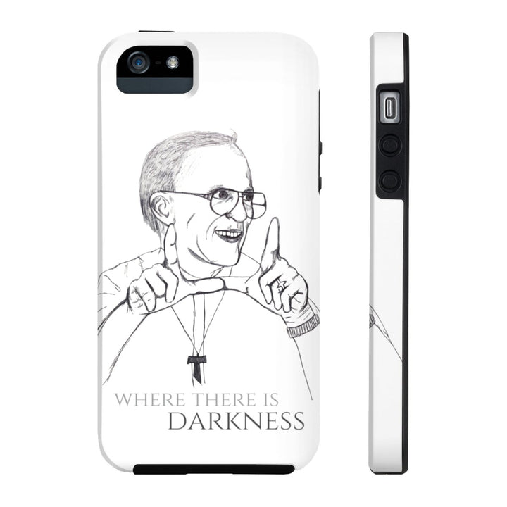 Tough Phone Case With Fr. Rene Robert Sketch