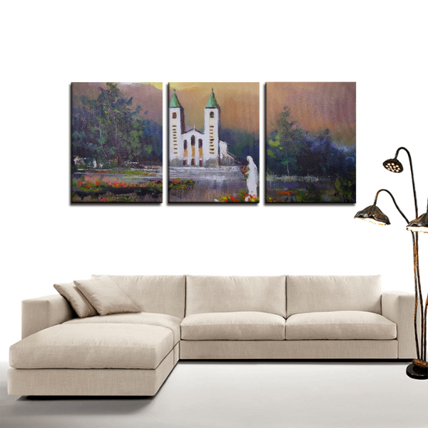 St. James Church 3-Panel Canvas Print Set