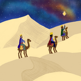 Three Wisemen on a journey