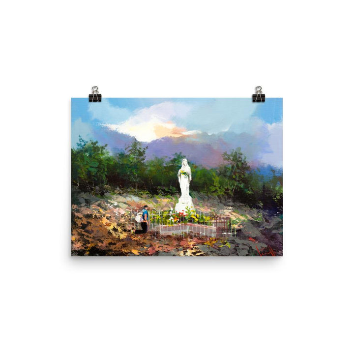 Apparition Hill Print - Mother To Mother
