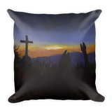 Medjugorje Crowds Pillow