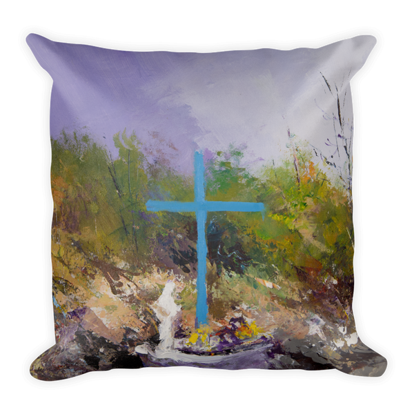 Two-sided Medjugorje Pillow