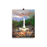 Apparition Hill Print - Gospa painting