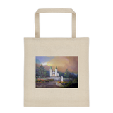 Tote bag With Medjugorje Scene