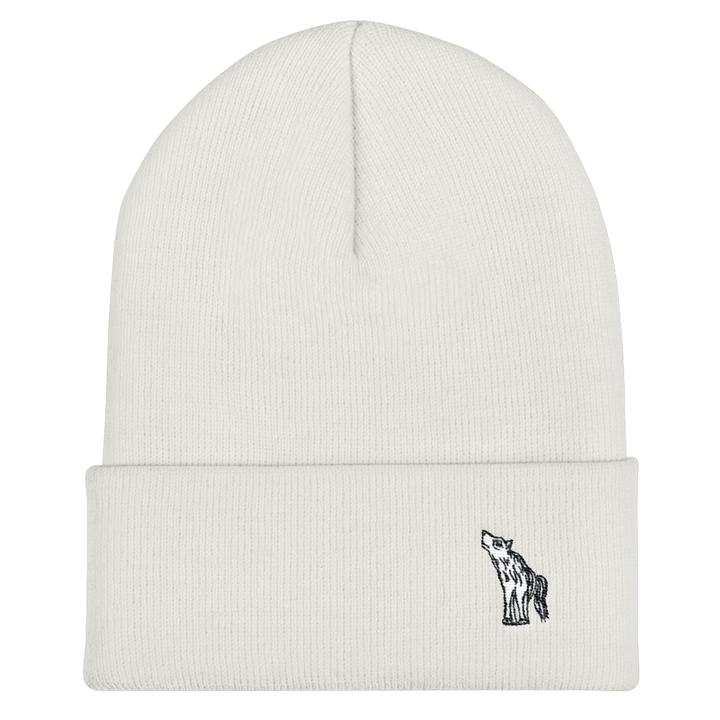 Friendly Wolf Cuffed Beanie