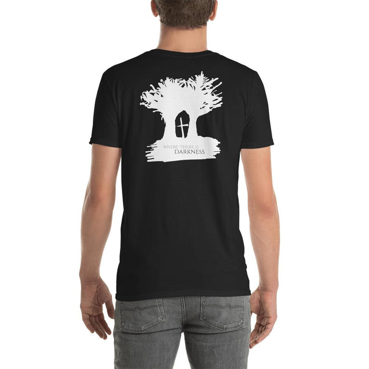 Where There Is Darkness Inverted Cross T-Shirt
