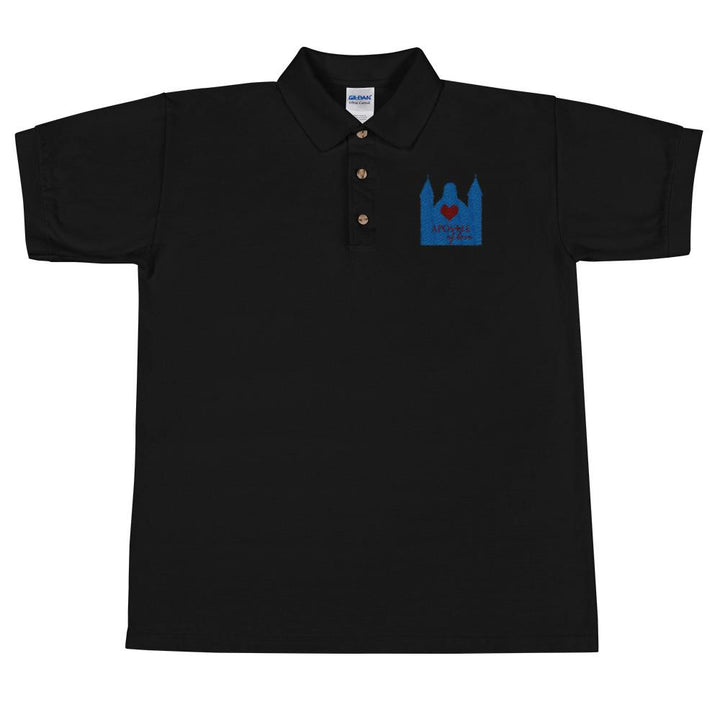 Apostle of Love (Men's Design) Embroidered Polo Shirt