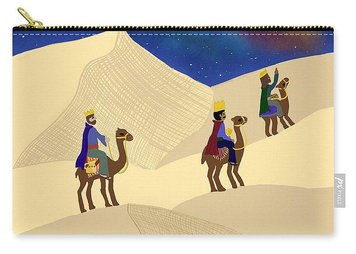 Three Wisemen On A Journey - Carry-All Pouch