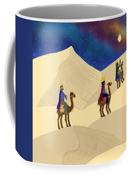 Three Wisemen On A Journey - Mug