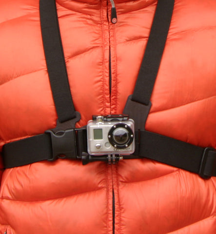 Go Pro Chest Mount Harness