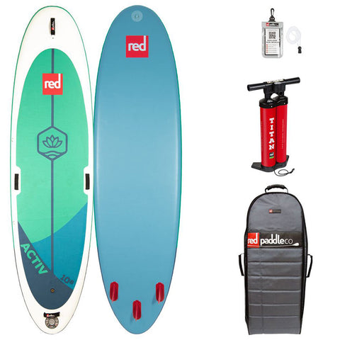 Red 10'8 Activ Yoga Inflatable SUP Board