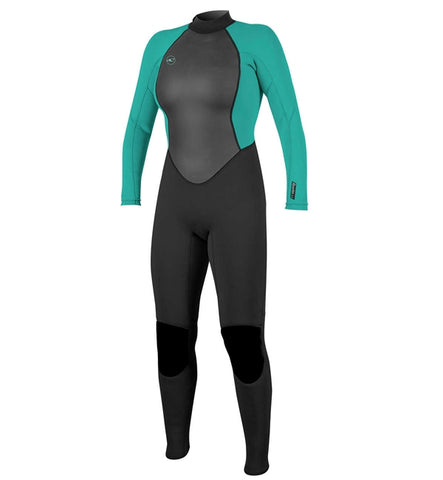 O'Neill Womens Reactor II 3/2 Back Zip Full Wetsuit