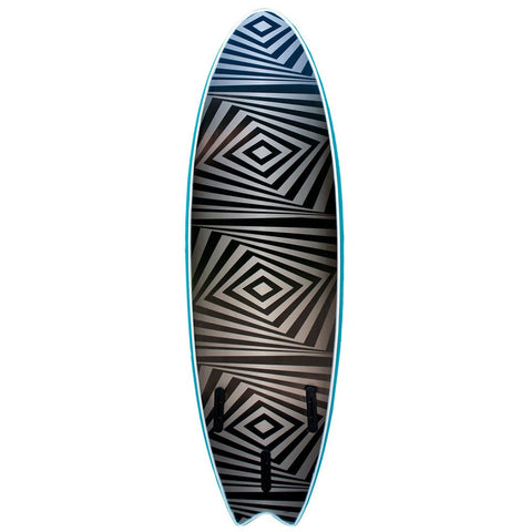 Surfworx Banshee 6ft Hybrid Soft Surfboard