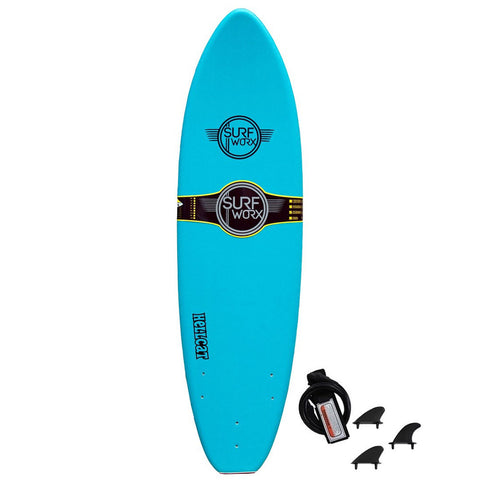Surfworx Hellcat 6'6 Soft Surfboard