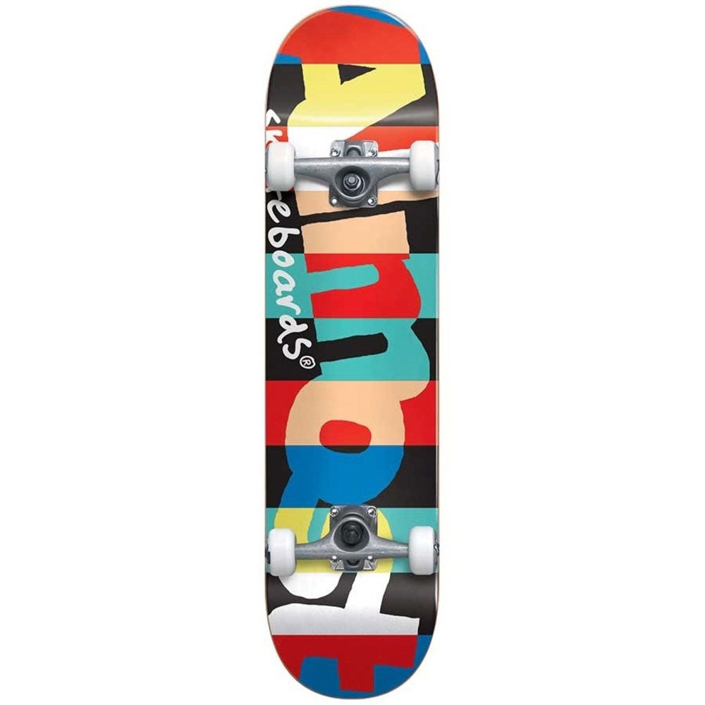 Almost Rugby Resin Youth 7.375 Premium Complete Skateboard -Multi