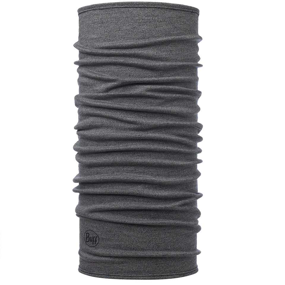 Buff Midweight Light Grey Midweight Merino Wool