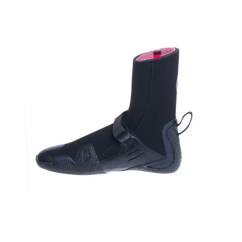 C Skins Wired 7mm Round Toe Wetsuit Boots - Black/Charcoal