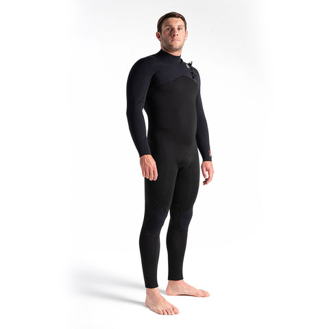 C Skins Session 5/4/3mm CZ Winter Wetsuit-Black/Blk Diamond/White