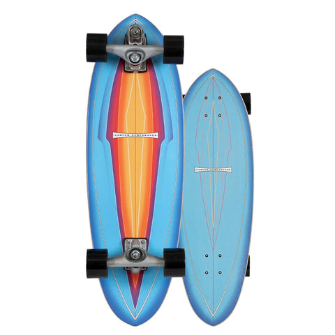 "Carver 31"" Blue Haze Skateboard"