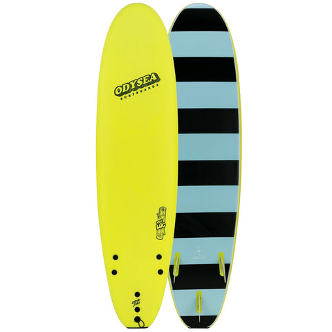 Catch Surf Odysea Log 9'0 Surfboard - Electric Lemon
